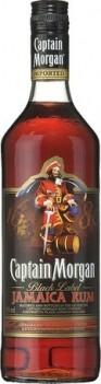 Rum Captain Morgan Black 1LT - Jamaica
