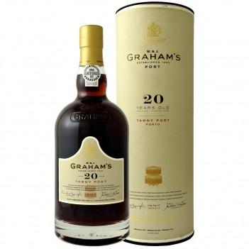 Vinho Porto Grahams 20 Anos Tawny