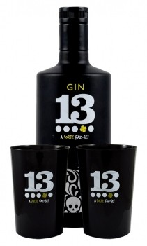 Gin 13 António Cuco - Pack dois copos