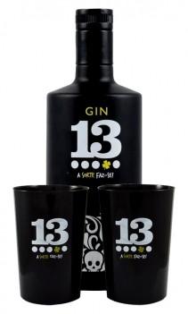 Gin 13 António Cuco Com Copos