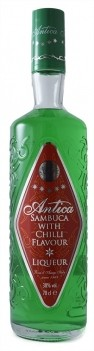 Licor Sambuca Antica Green Chili 70 cl
