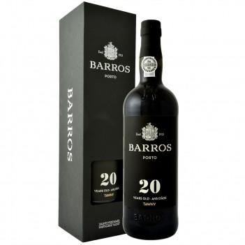 Vinho do Porto Barros 20 Anos - Nacional