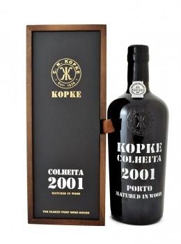 Kopke Colheita 2001 C/ Cx. Mad. 2001