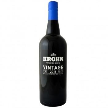 Vinho do Porto Vintage Krohn 2016