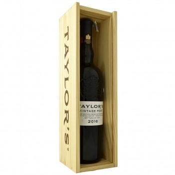 Vinho do Porto Vintage Taylors  c/ Caixa Madeira 2016
