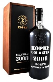 Kopke Colheita 2008 C/ Cx. Mad.