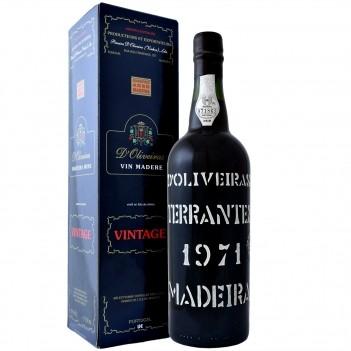 Vinho da Madeira D´Oliveiras Terrantez Colheita 1971