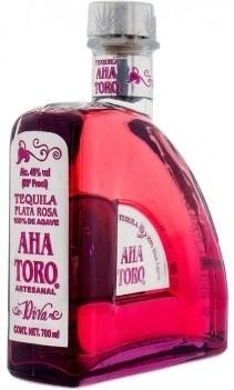 Tequila Plata Rosa Aha Toro - México