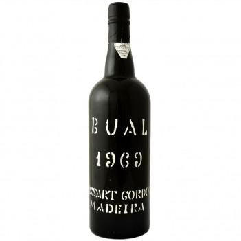 Vinho da Madeira Cossart Gordon Vintage Bual 1969