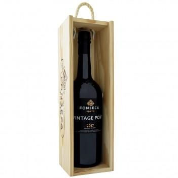 Vinho do Porto Vintage Fonseca 2017 c/ Caixa Madeira