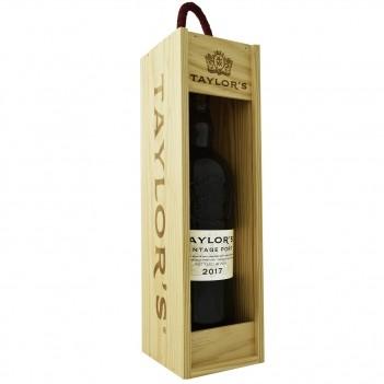 Vinho do Porto Vintage Taylors 2017 c/ Caixa Madeira