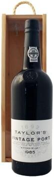 Vinho do Porto Vintage Taylors 1985 Com Caixa de Madeira