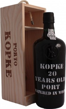 Kopke  20 Anos  Com Caixa de Madeira