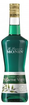 Licor Monin Peppermint Menta Verde
