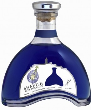 Gin Sharish Blue MAgic Gin - Meio Litro