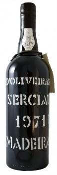 Vinho da Madeira D'Oliveiras Reserva Sercial Colheira 1971