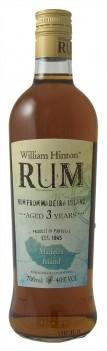 RUM MADEIRA WILLIAM HINTON 3 ANOS ESCURO