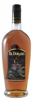 Rum El Dorado 8 anos - Destilado em Bourbon