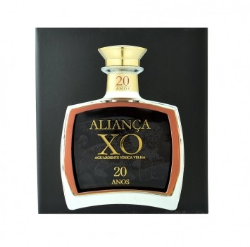 Aguardente Vínica Velha Aliança XO 20 anos - 0,5LT
