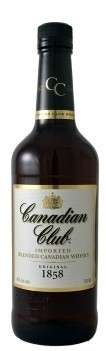 Whisky Canadian Club - Canadiano