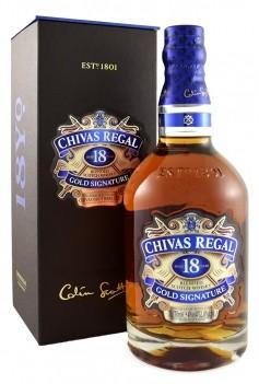 Whisky Velho Chivas Regal 18 Anos -  Escócia