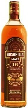 Whisky Bushmills 16 Anos Irlandês -  Com Caixa