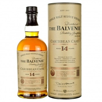Whisky Balvenie 14 Anos Caribbean Cask Single Malt