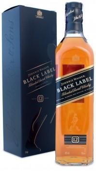 Whisky Velho Johnnie Walker Black 12 Anos - Escócia