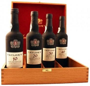 Conj. Vinho do Porto Taylors Century 10+20+30+40 Anos 0,375 LT