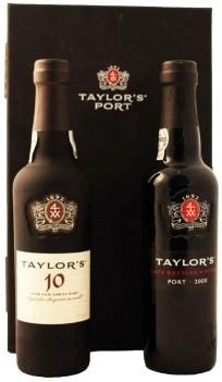 Conj. Vinho do Porto Taylors 10 Anos & LBV 0,375LT