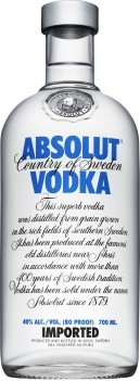 Vodka Absolut - Ediçao Original Sueca