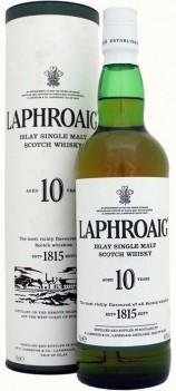 Whisky Laphroaig 10 Anos Islay Malt - Ilhas