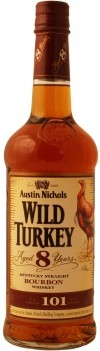 Whisky Wild Turkey Bourbon 101 Proof 8 Anos - Americano