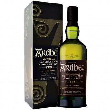 Whisky Ardbeg 10 Anos Islay Malt Whisky - Ilhas