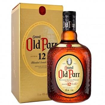 Whisky Velho Old Parr Escócia - Litro