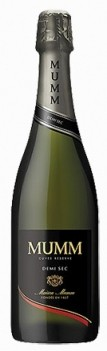 Mumm Champagne Françes Demi-Sec