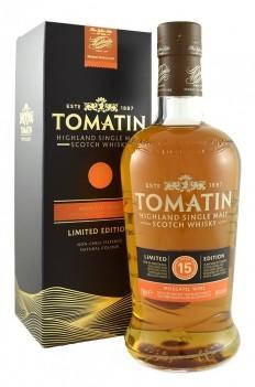 Whisky Velho Tomatin 15 Anos Moscatel Cask - Escócia