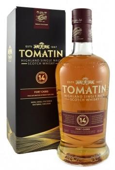 Whisky Velho Tomatin 14 Anos Port Cask - Escócia