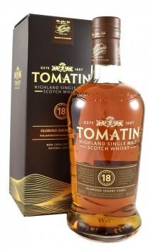 Whisky Velho Tomatin 18 Anos Old Sherry Cask - Escócia