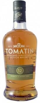 Whisky Velho Tomatin 12 Anos Single Mal - Escócia