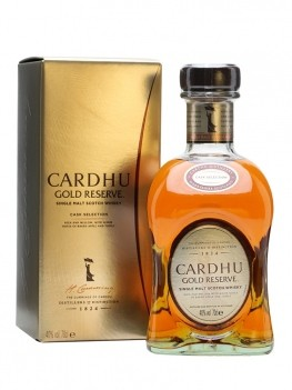 Whisky Cardhu Gold Reserve Malt Single Malt