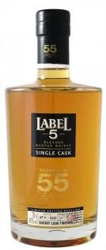 Whisky Velho Label Reserve nº55 - Escócia