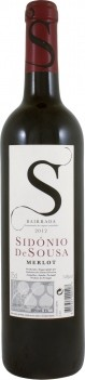 Vinho Tinto Sidónio de Sousa Merlot - Bairrada 2015