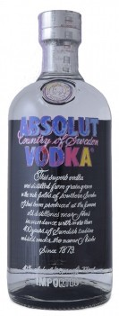 Vodka Absolut Blue Andy Warhol