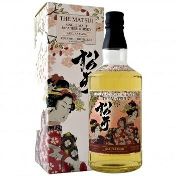Whisky The Matsui Sakura Cask Single Malt - Japonês