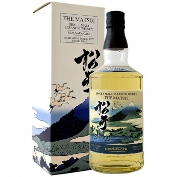 Whisky The Matsui Mizunara Cask Single Malt - Japonês