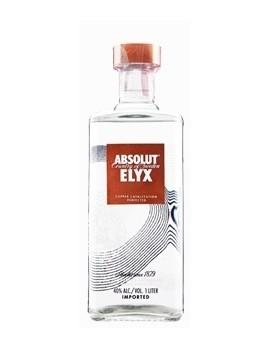 Vodka Absolut Elyx  Litro