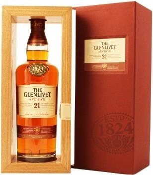 Whisky Glenlivet 21 Anos Archive Malt SIngle Malt