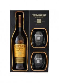 Whisky Glenmorangie 10 Anos Single Malt Com 2 Copos