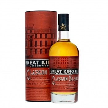 Whisky Great King St Glasgow Blend -  Compass Box
